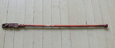 ANTIQUE NATIONAL CAP GUN WALKING STICK CANE - BANG STICK - Pat. Dec. 1908