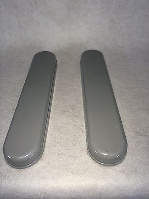 Wheelchair Armrests, Grey Plastic. Desk length (1pair) *NEW* *Free Shipping*