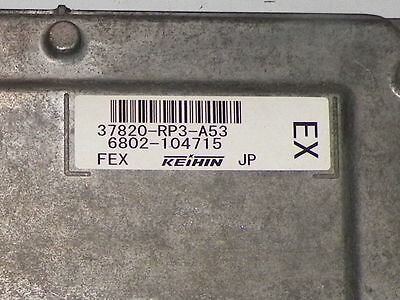 2009 2010 09 10 HONDA FIT EBX COMPUTER BRAIN ENGINE CONTROL ECU ECM MODULE UNIT