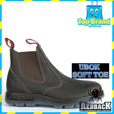 65d15404461 REDBACK UBOK MEN'S Boot Non Safety soft toe BROWN BOOTS WORK BRAND NEW STOCK