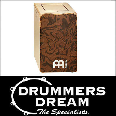 Meinl SEGUIRIYA LINE Arted Flamenco Cajon Drum- CANYON BURL - ON SALE! NEW