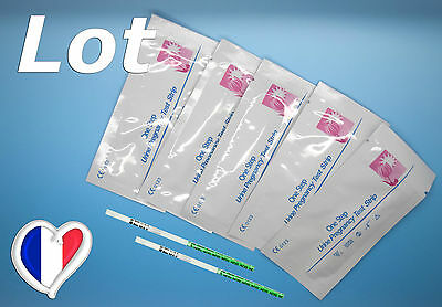 Lot Combinaison 1 à 50 Tests De Grossesse Et Tests D'Ovulation Plus Sensibles+++