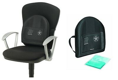 Lumbar Heat and Soothe Back Support, Office Chair Back Support For After Surgery