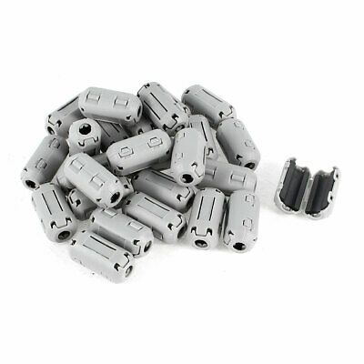 26 Pcs Gray 5mm Diameter Hole Ferrite Core EMI Noise Reducing Suppressor Filter