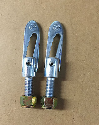2 x Anti Luce M12 x 34mm Drop Catch Tail Gate Fastener Trailer Horsebox Truck