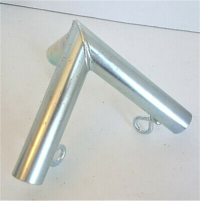 """1/"""" Pipe ** Free Shipping ** 4 way EDGE FITTING with DOWN ANGLE P4ISLB"""