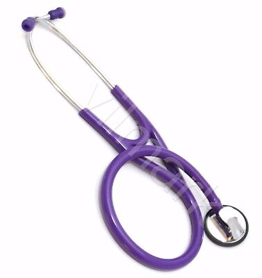 Professional Cardiology Stethoscope Purple, 14a Life Limited Warranty