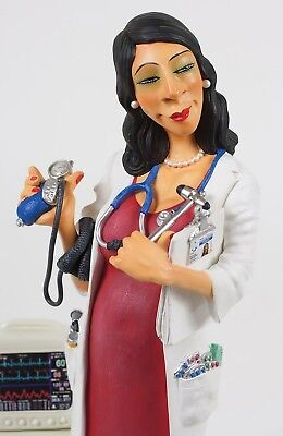 "GUILLERMO FORCHINO Professionals - ""MADAM DOCTOR"" - Comic Art Skulptur - FO85520"