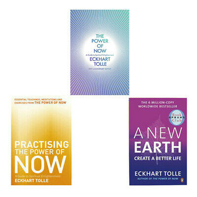 Eckhart Tolle Collection The Power of Now,Practising the Power of Now,3 Book Set