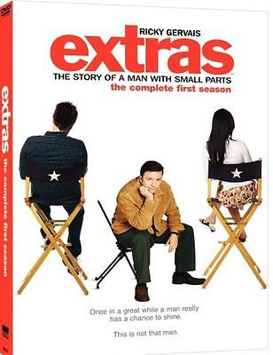 BRAND NEW & SEALED*** Extras - The Complete First Season 1 [DVD] Ricky Gervais