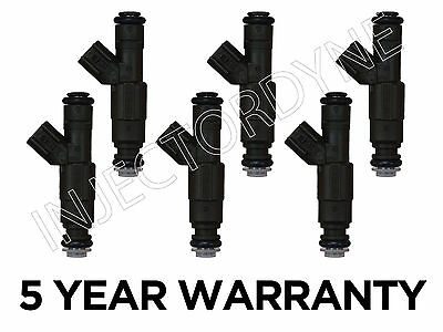 Jeep Cherokee XJ 99-01 4.0L 4-hole upgrade injectors set 0280155784/0280155923