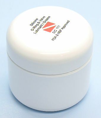 DOW CORNING MOLYKOTE 111 COMPOUND SILICONE GREASE 2oz 57g for O-ring, SCUBA etc