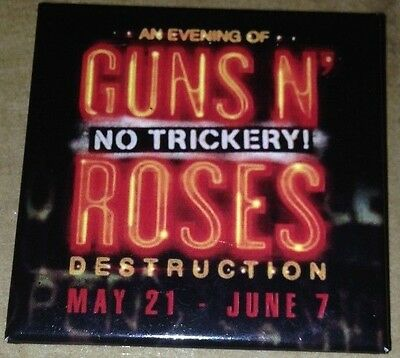Guns N Roses - The JOINT Las Vegas 2014 Pin/Button, No Trickery Residency