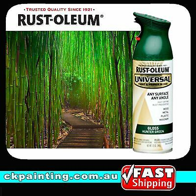 Rustoleum Universal All Purpose Spray Paint/gloss Hunter Green