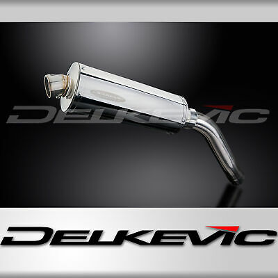 TRIUMPH TIGER 955 00 01 02 03 04-07 OVAL STUBBY 350mm STAINLESS EXHAUST SILENCER