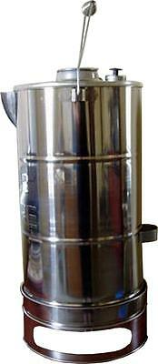 Royce Rimfire Stainless Steel BUSH KETTLE CAMP BILLY Large 6Lt - Picnic, Camping