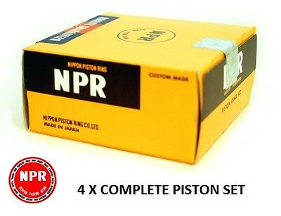 Genuine Npr Nippon (Japan) Piston Rings - Honda Civic 1.6 Vti / Sir (B16A) All