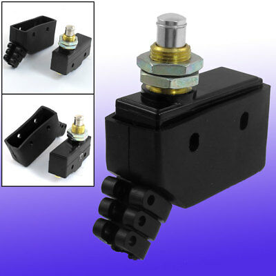 TM-1307 Push Plunger Actuator Momentary Limit Micro Switch 380V 15A w Cover