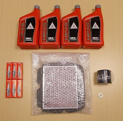 New 2013-2014 Honda GL1800 Gold Wing F6B OE Complete Synthetic Oil Tune-Up Kit