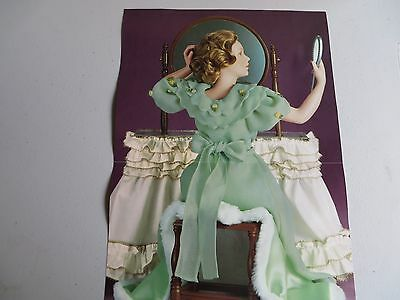"Danbury Mint Norman Rockwell's ""Going Out"" Vintage New in Box porcelain doll"