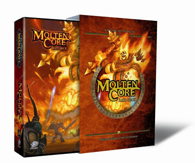 Molten Core Raid 110-Card Deck WOW TCG inc. One Treasure Pack 10 Oversized Hero