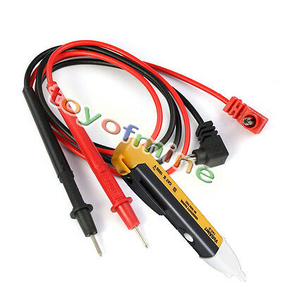 Non-Contact Voltage Alert Electric Current Detector + Multimeter Test Wire Probe