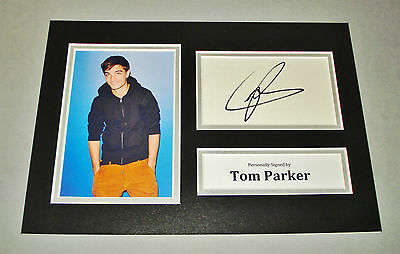 Tom Parker Signed A4 Photo Display The Wanted Autograph Music Memorabilia + COA
