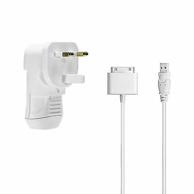 Belkin Power Pack USB Wall charger with charging cable for iPod 5V UK/USA F8Z098