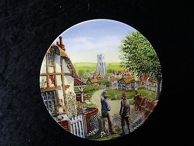 Royal Doulton collectors plate - Rose cottage - Issued 1991