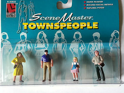 Scene Master G Scale Towns People Figures