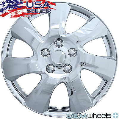 "4 New Oem Chrome 17"" Hubcaps Fits Isuzu Suv Truck Car Center Wheel Covers Set"