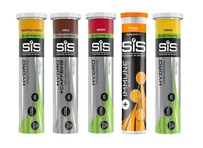 Science in Sport (SIS) GO Hydro Electrolyte Hydration Drink 20 Tablets per Tube