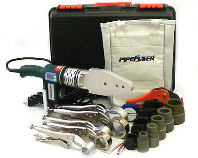 NEW Pipefuser Socket Fusion Commercial Tool Kit - TK315