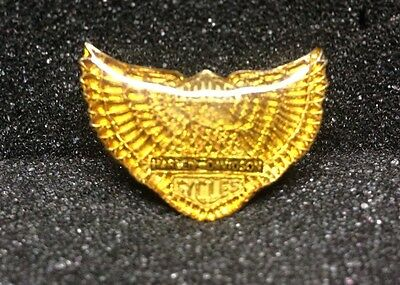 [46540] Undated Harley Davidson Motorcycles Pin Of Wings