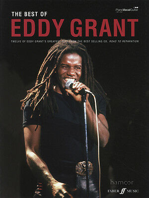 The Best of Eddy Grant Piano Vocal Guitar Sheet Music Book