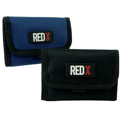 New Mens Boys WALLET RED X TriFold Canvas Credit/Debit Card 2 Colours Change