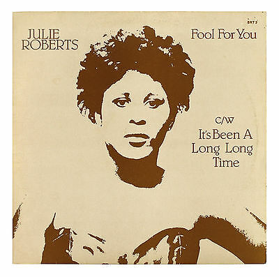 """Julie Roberts - Fool For You - 12"""" Vinyl Single - ** EX CONDITION **"""