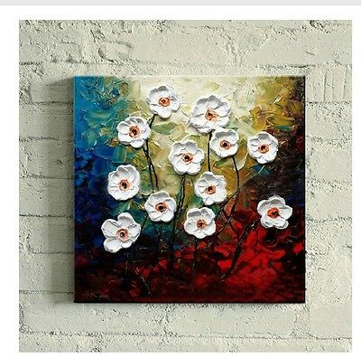 2014MODERN ABSTRACT HUGE WALL ART OIL PAINTING ON CANVAS- flower (no framed)
