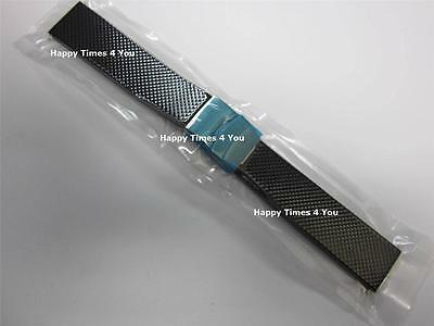 20 mm Seiko Rubber Watch Band Strap Bracelet Replacement