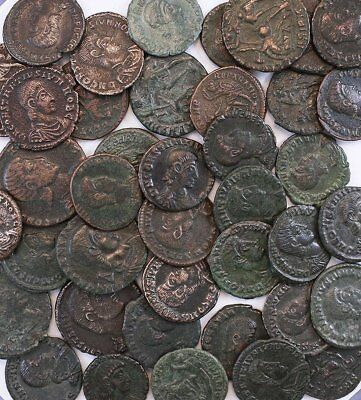 Ancient Roman Coin Constantius II Gallus Dealer Wholesale Lot of 5 Coins VF+/EF