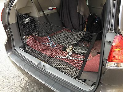 Envelope Style Trunk Cargo Net for TOYOTA SIENNA 2004 - 2019 NEW FREE SHIPPING