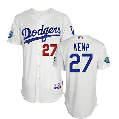 2012 Matt Kemp Los Angeles Dodgers Authentic Cool Base 50th Home Jersey