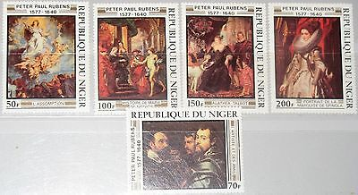 NIGER 1978 607-11 426-30 Rubens Paintings Gemälde Art Kunst Painter Maler MNH