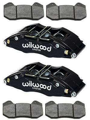 "Wilwood Dynapro 6 Brake Calipers & Pads,drag Race,hot Rod,street/strip,1.1"",4.04"