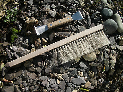 Stainless Steel Hive Tool and Soft Bee brush