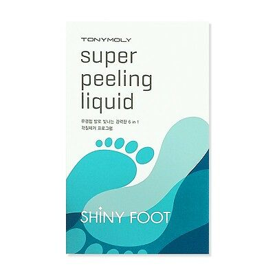 [TONYMOLY]  Shiny Foot Super Peeling Liquid (25ml*2ea) / Korea cosmetics