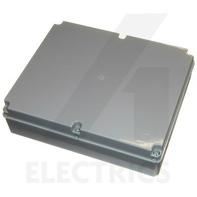 Large junction box 460 x 380 x 120mm weatherproof enclosure IP56 outdoor IP56