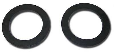 Heavy Duty Thick Black Rubber Front Upper Coil Spring Isolators