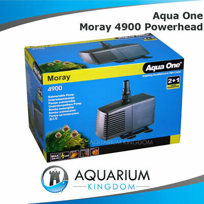 Aqua One Moray 4900 Aquarium Powerhead Water Pump for Fish Tank / Pond  4800L/H