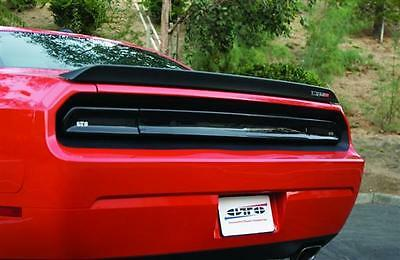 2008-14 Dodge Challenger RT GTS Acrylic Taillight Center Panel Covers Smoke 3pc